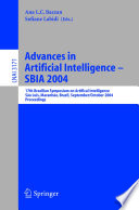 Advances In Artificial Intelligence Sbia 2004