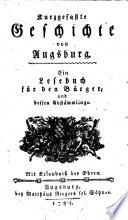 Kurzgefaßte Geschichte von Augsburg