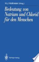 Bedeutung von Natrium und Chlorid für den Menschen