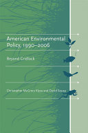 American environmental policy  1990 2006