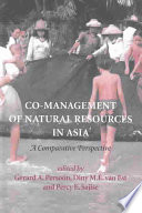 Co management of Natural Resources in Asia