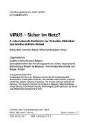 Virus--sicher im Netz?