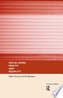 Social Work, Health And Equality : social work, health and equality opens up...