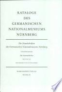 Die Handschriften des Germanischen Nationalmuseums Nürnberg