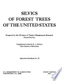 Silvics of Forest Trees of the United States Book PDF