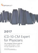 ICD 10 CM Expert for Physicians 2017
