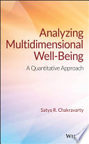 Analyzing Multidimensional Well Being book