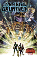 Infinity Gauntlet : a post-apocalyptic wasteland, scrounging for food and avoiding...