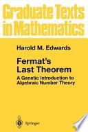 Fermat S Last Theorem book