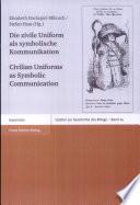 Civilian uniforms as symbolic communication