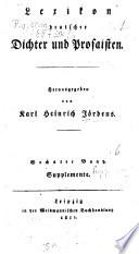 Lexikon deutscher Dichter und Prosaisten