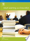 Adult Learning And Education book
