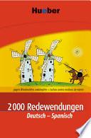 2000 Redewendungen Deutsch Spanisch