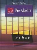 Pre Algebra Teacher s Edition