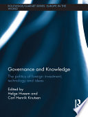 Governance and Knowledge