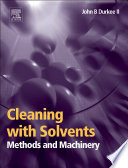 Cleaning with Solvents  Methods and Machinery