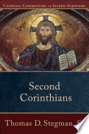 Second Corinthians  Catholic Commentary on Sacred Scripture