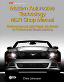 Modern Automotive Technology Mlr Shop Manual