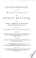 Nautical Descriptions of the West Coast of Great Britain  from Bristol Channel to Cape Wrath