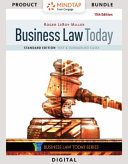 MindTap Business Law  1 Term 6 Months Printed Access Card for Miller s Business Law Today  Standard  Text   Summarized Cases   Business Law Digital Video Library 2 Term 12 Months Printed Access Card