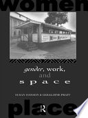 Gender  Work and Space