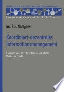 Koordiniert-dezentrales Informationsmanagement