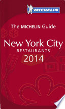 MICHELIN Guide New York City 2014