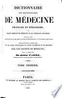 Dictionnaire des dictionnaire de m  decine fran  ais     trangers