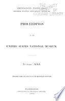 Proceedings of the United States National Museum