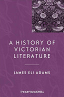 download ebook a history of victorian literature pdf epub