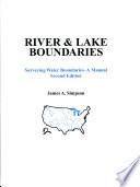 River   Lake Boundaries