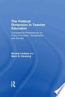 The Political Dimension in Teacher Education