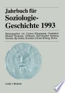 Jahrbuch für Soziologiegeschichte 1993