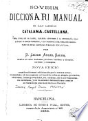 Novíssim diccionari manual de las llenguas catalana-castellana
