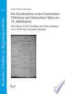 Die Sozialstruktur in den Grafschaften Oldenburg und Delmenhorst Mitte des 18. Jahrhunderts