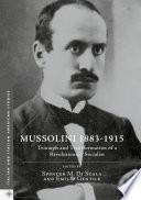 Mussolini 1883 1915