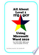 All About Level 1 iTQ QCF Using Microsoft Word 2010