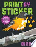 Paint By Sticker Birds