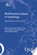 Multifractal Analysis in Hydrology
