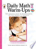Daily Math Warm-Ups, Grade 2 180 Lessons and 18 Assessments; 36 Weeks of Lessons
