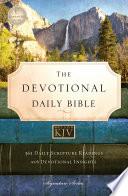 KJV  Devotional Daily Bible  eBook
