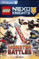 Dk Readers L3 Lego Nexo Knights Monster Battles