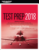 Instrument Rating Test Prep 2018