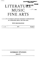 Literature, Music, Fine Arts