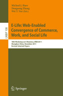 download ebook e-life: web-enabled convergence of commerce, work, and social life pdf epub