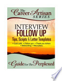Interview Follow Up Guide for the Perplexed