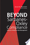 Beyond Sarbanes Oxley Compliance