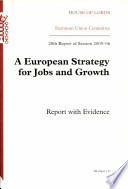 A European Strategy for Jobs and Growth