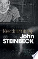 Book Reclaiming John Steinbeck