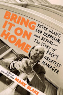 Bring It On Home Book